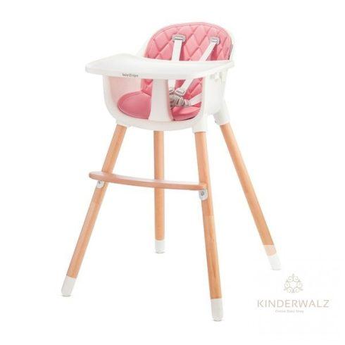 Baby Tiger Tini fix etetőszék - pink