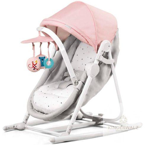 Kinderkraft Unimo pihenőszék és hinta - rózsaszín