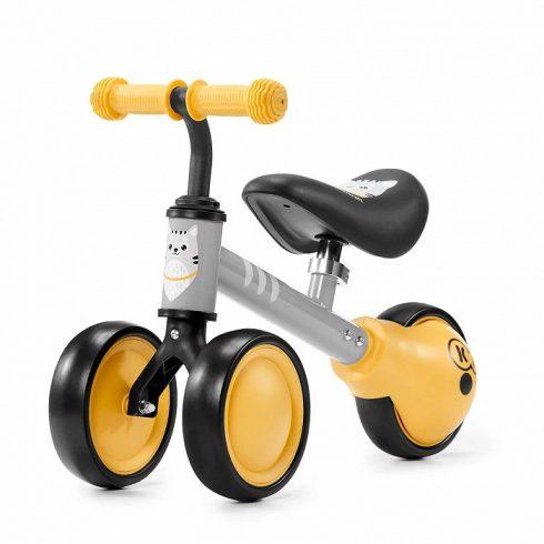 Kinderkraft Cutie Mini egyensúlyozó tricikli - sárga