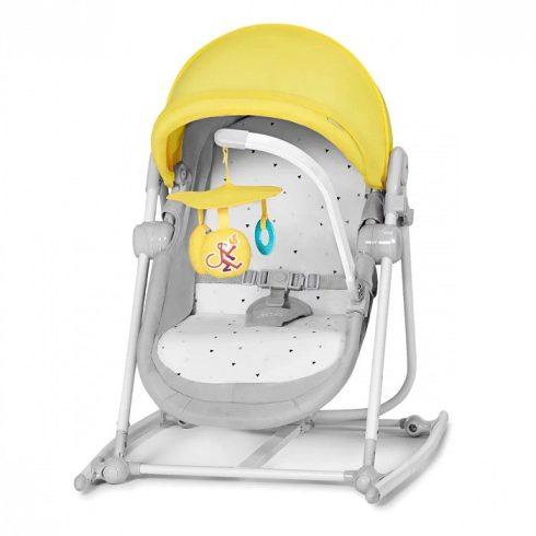 Kinderkraft Unimo pihenőszék és hinta - sárga