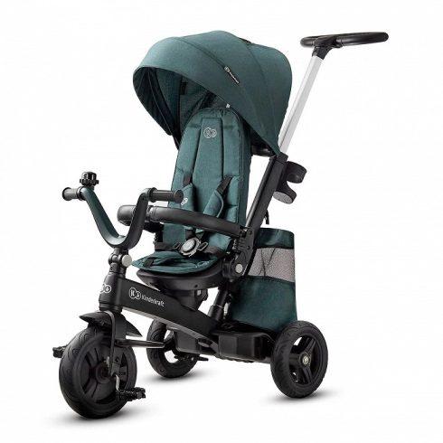 Kinderkraft Easy Twist tricikli - Midnight green UV 50+ huzattal