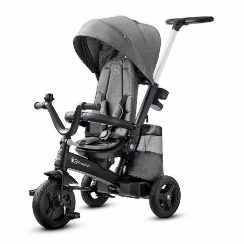 Kinderkraft Easy Twist tricikli - Platinum grey UV 50+ huzattal