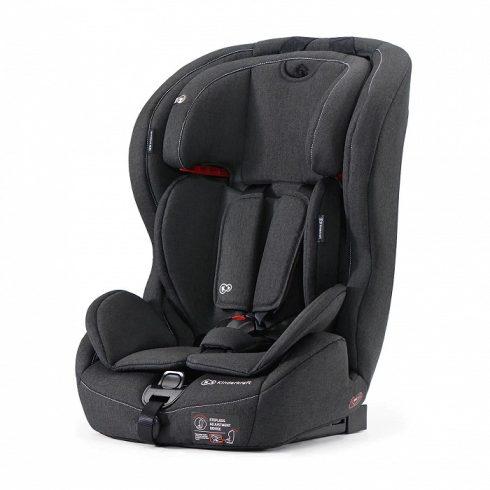 Kinderkraft Safety Fix autósülés 9-36 kg - fekete