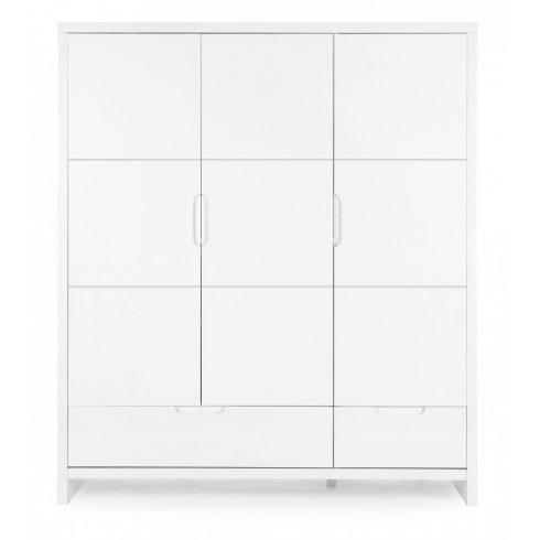JOTA white 3 ajtós, 3 fiókos gyermekszekrény