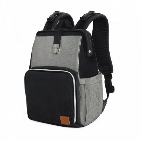 Kinderkraft Molly pelenkázó táska - fekete/szürke