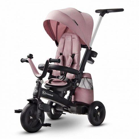 Kinderkraft Easy Twist tricikli - Marvelous pink UV 50+ huzattal