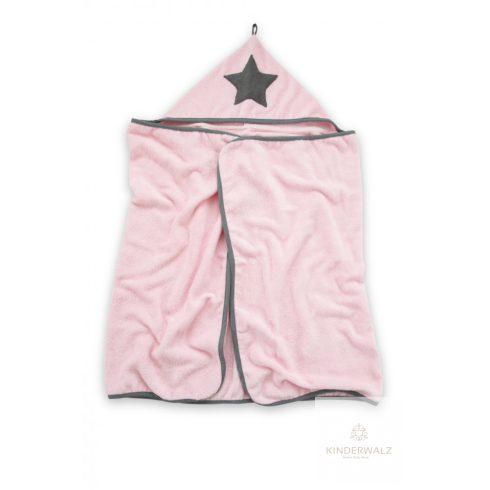 Tiny Star - Bambusz babatörölköző 70 * 140 cm - Rózsaszín
